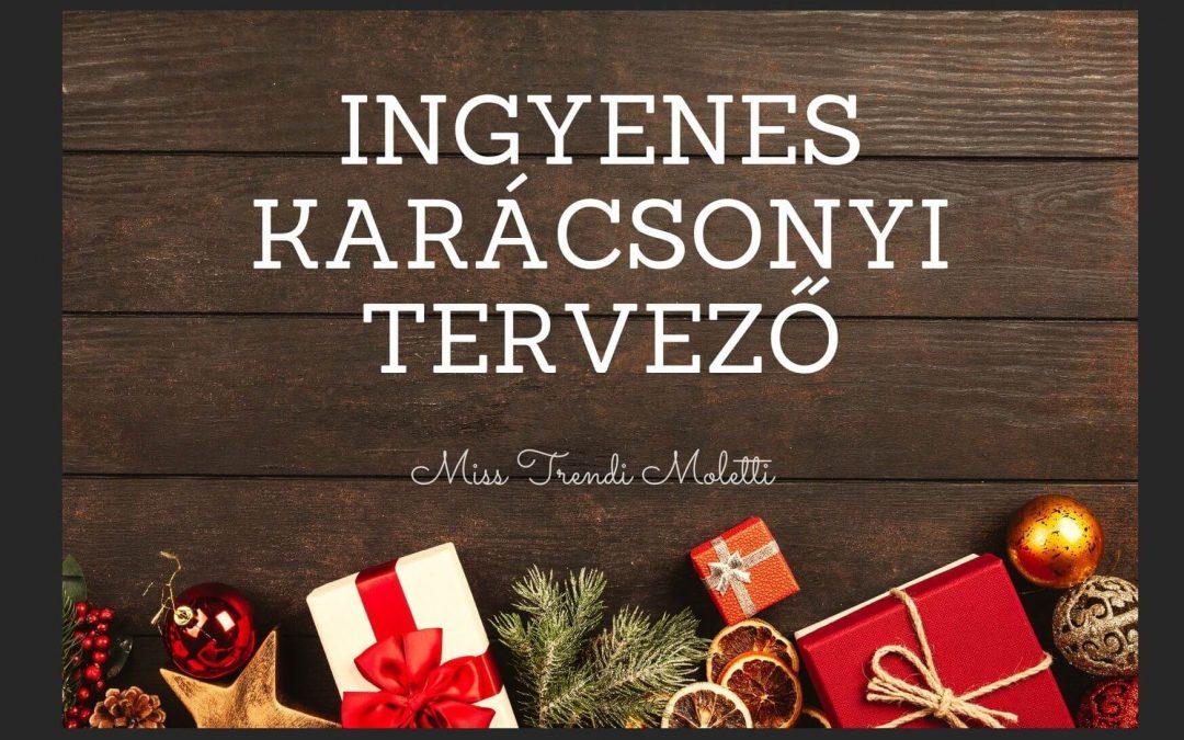 Karácsonyi Tervező – A mi ajándékunk Neked